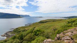 Blick auf die Treshnish Isles, Mull