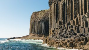 Fingal's Cave, Staffa vom Boot