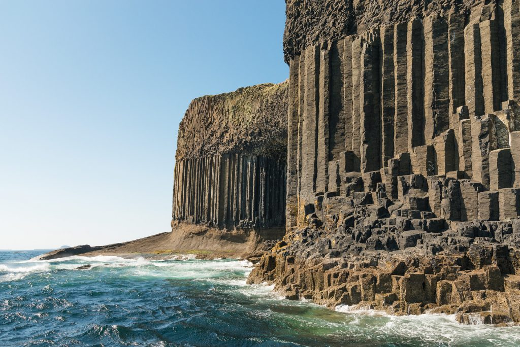 Fingals Cave, Staffa vom Boot