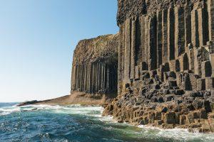 Fingals Cave, Staffa vom Boot
