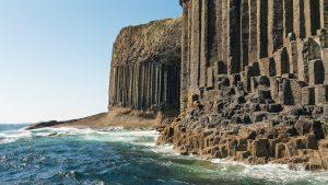 Staffa, Fingals Cave vom Boot aus