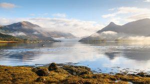 Morgenstimmung bei Loch Leven, Glencoe Fotoreise